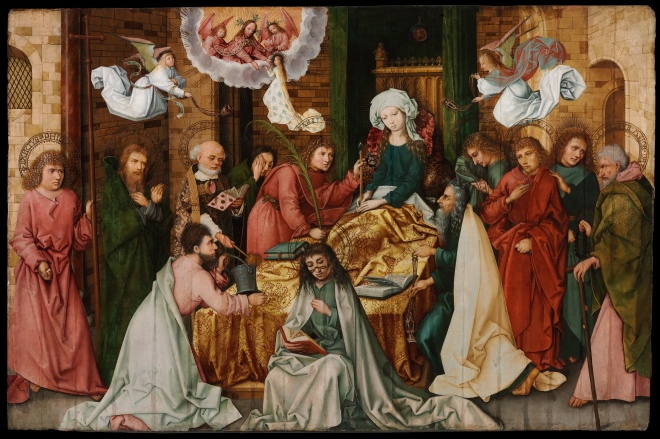 Hans_Holbein_the_Elder_-_The_Dormition_of_the_Virgin_-_Google_Art_Project