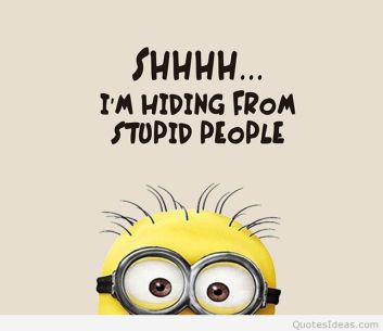 Funny-minions-stupid-people-quote