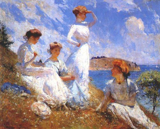 Summer_1909_Frank_Weston_Benson