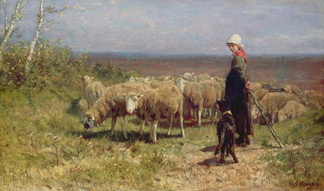 shepherdess-anton-mauve