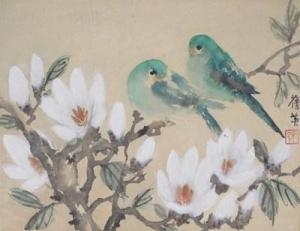 chang_chien_ying-parakeets_and_magnolia~OM2f3300~10719_20101208_pw0812102_369