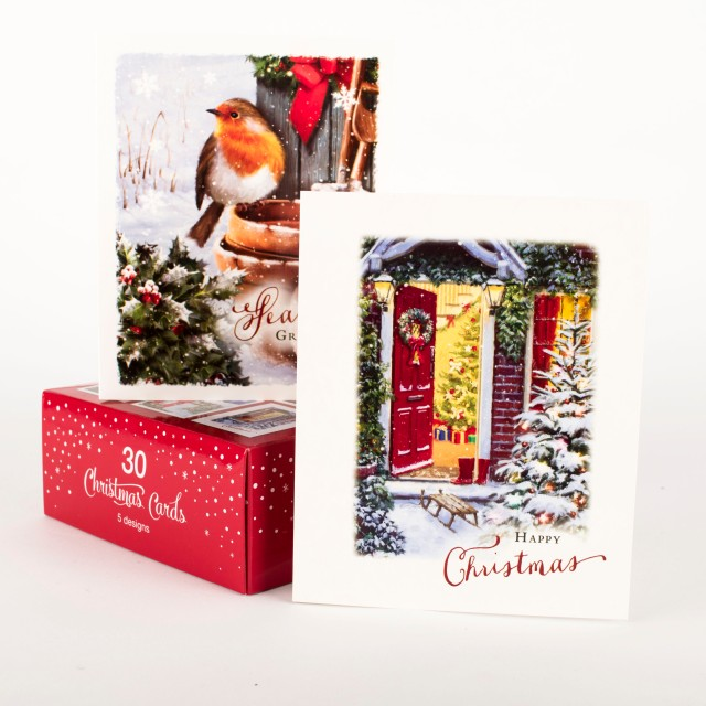 boxed-traditional-christmas-cards---assorted-pack-of-30_a