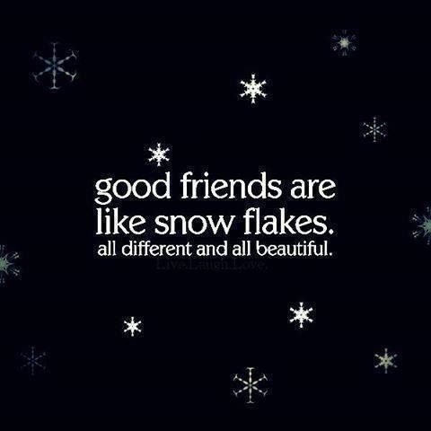 153505-Good-Friends-Are-Like-Snowflakes