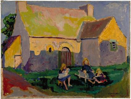 Breton_church_Emily_Carr_1906