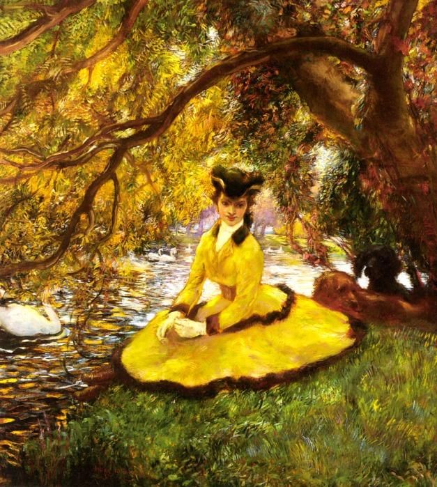 Gaston_La_Touche_At_the_riverbank