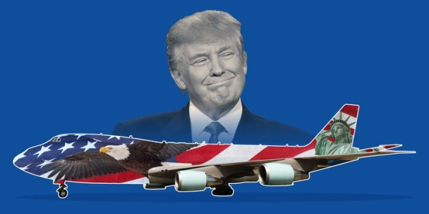 Trump-wants-to-redesign-Air-Force-One-to-look-more-American-Report