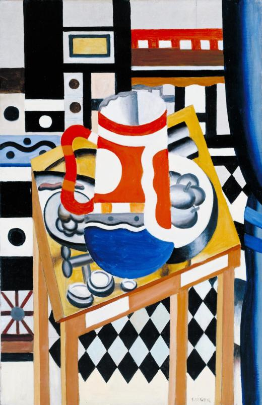 Still Life with a Beer Mug 1921-2 by Fernand L?ger 1881-1955