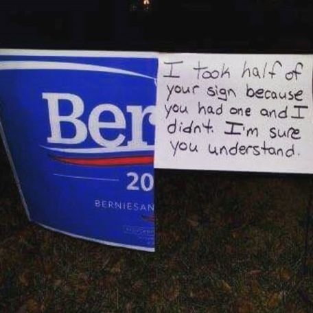 bernie-take-half-your-sign