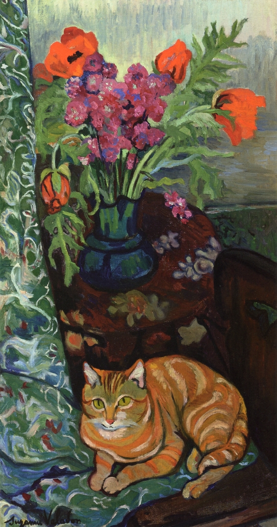 bouquet-and-a-cat-1919