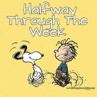 10 Wednesday Snoopy Quotes & Pictures